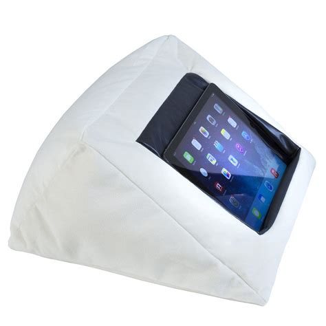 ipad pillow for bed ipad bed pillow cushion stand holder for your ipad the