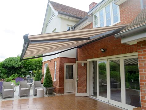 outdoor awning large electric patio awning fitted in southton