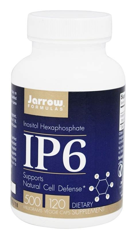 buy jarrow formulas ip6 inositol hexaphosphate 500 mg