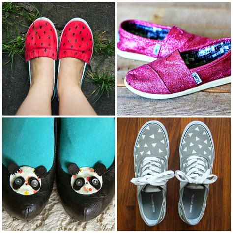 diy shoes 18 cool and diy shoe makeovers glam radar