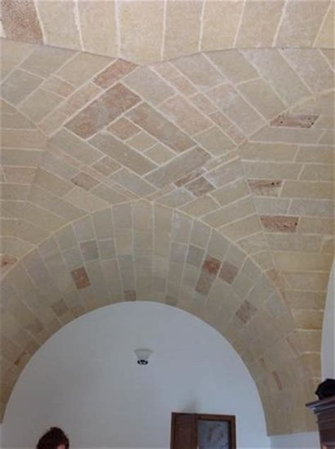 soffitto a volta soffitto a volta in pietra leccese foto di lu palummaru