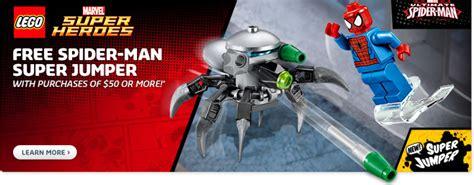 Lego Polybag 30305 Jumper lego marvel heroes spider jumper polybag