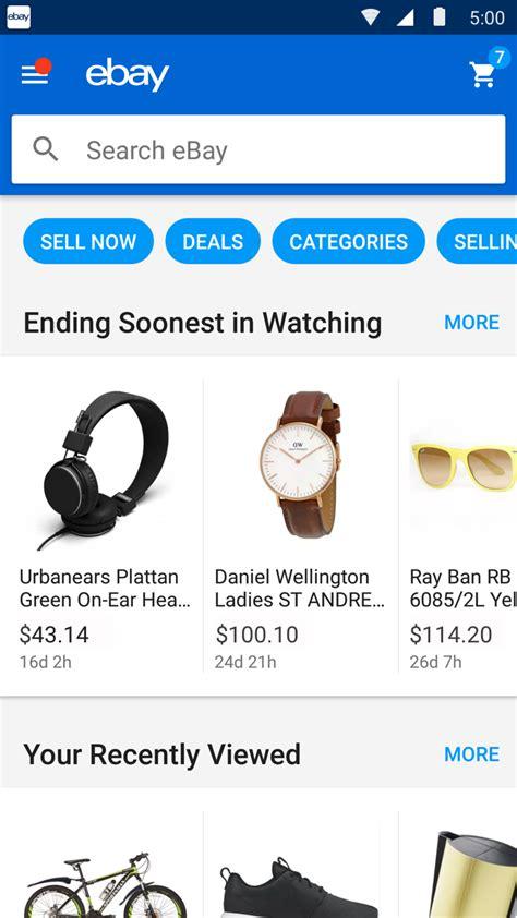 ebay google home ebay android homescreen 9to5google