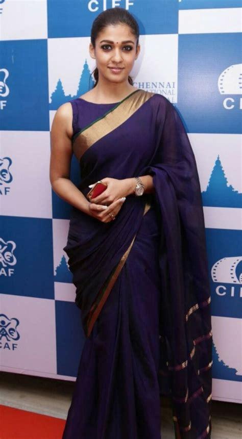 nayanthara boat neck blouse designs 20 awesome pics of nayantara in saree