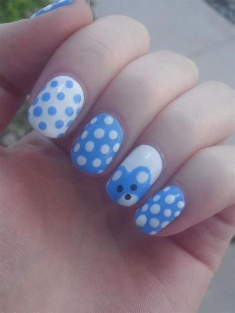 Baby Shower Nails by 1000 Ideas About Baby Boy Nails On Baby