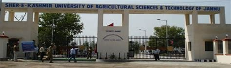 Sher E Agricultural Mba by Sher E Kashmir Of Agricultural Sciences And
