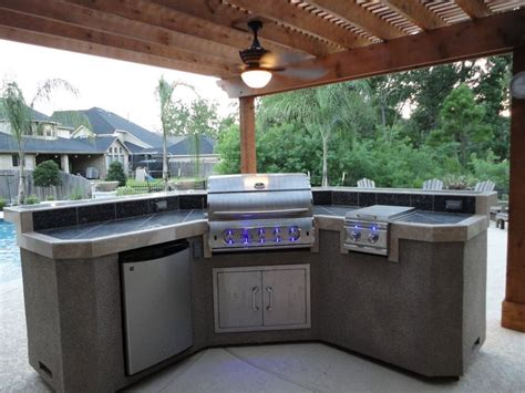 Backyard Grill Area Outdoor Grilling Area Outdoor Grill