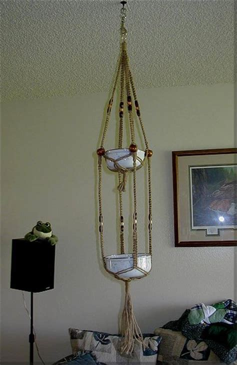 Macrame Plant Hanger Diy - 25 diy plant hangers with tutorials diy crafts