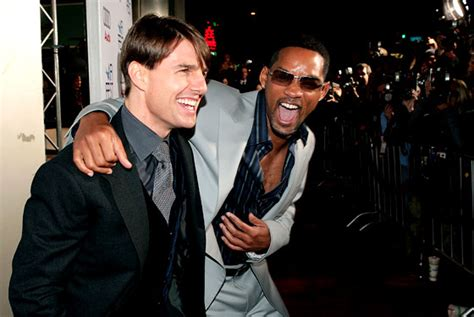 Tom Cruise Gives Will Smith An Award by Confirmed Will Smith Almost Completely To Blame For