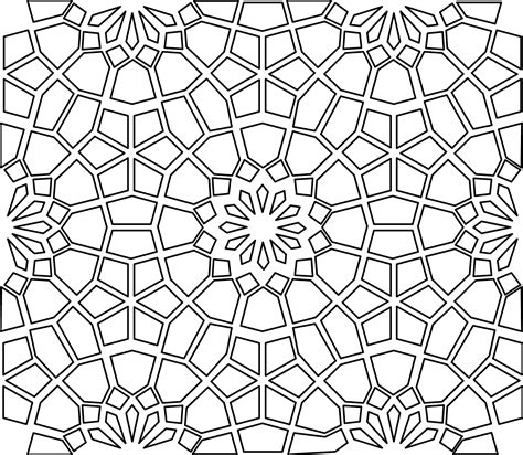 Islamic Pattern Project 1 Download Dana Krystle Online Portfolio Geometr 237 A Pinterest Ornament Stencil Template