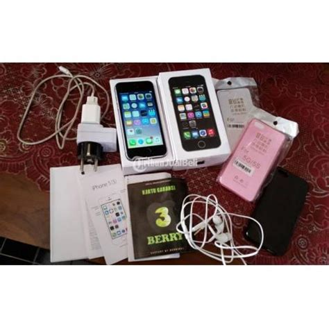 Iphone 5s 16 Gb Warna Space Gray Second Fullset iphone 5s 16gb warna space grey fullset mulus no minus