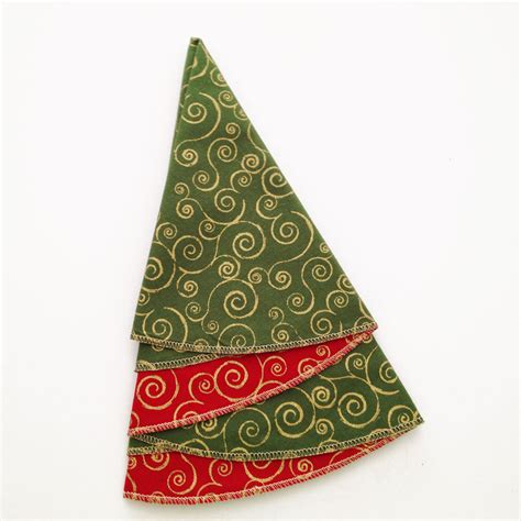 christmas napkins christmas tree napkins green and red
