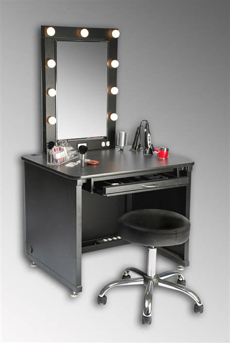 Mirrored Makeup Vanity Table Makeup Vanity Table With Mirror Designwalls