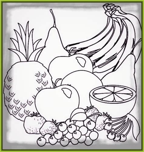 imagenes para colorear verduras y frutas dibujos de frutas archivos imagenes de frutas
