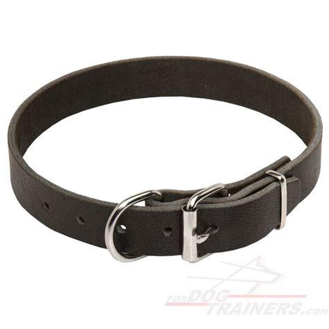 collar for dogs leather collar 1 1 5 inch 3cm width c3 1073 leather collar 30 mm 16
