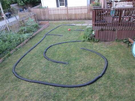 backyard rc track master of none miniature cars losi xxx scb