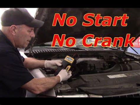 no crank no start ford ricks free auto repair advice ricks free auto repair advice diagnosing no start no crank replace starter 2006 ford expedition youtube