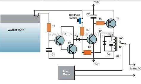water tank level controller circuit diagram zonaeowq automatic water level circuit diagram