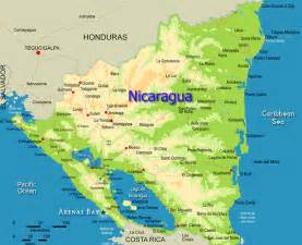 nicaragua south america map cool map of nicaragua travelsmaps central