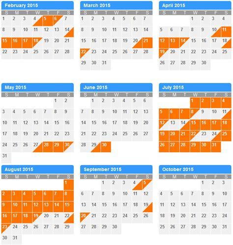Availability Calendar We Ve Updated The Availability Calendar For 2015