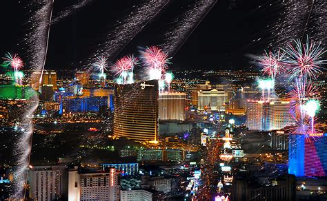 celebrate new years eve in las vegas coast to coast