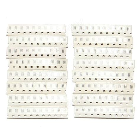 22m Ohm Smd0805 Resistor 10pcs 740pcs 74 value 1 ohm to 10m ohm 0805 smd smt resistors kit sale banggood sold out