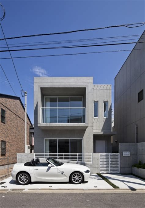 Small Minimalist House | world of architecture small minimalist home in japan by
