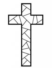 pretty cross designs coloring pages