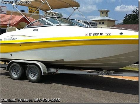 boats for sale mission texas 2006 nautic star 210 dc pontooncats