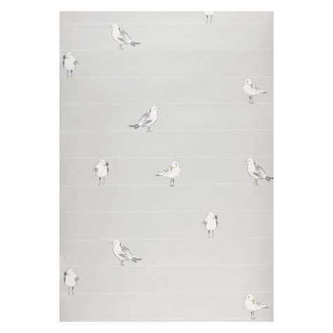 grey wallpaper john lewis john lewis seagulls wallpaper blue grey at john lewis