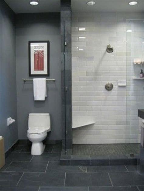 gray floor bathroom 40 grey bathroom floor tile ideas and pictures