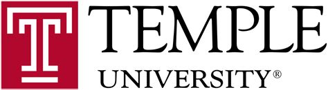 College Work by File Temple University Logo Svg Wikimedia Commons