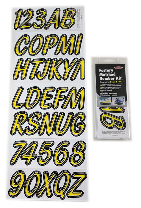 boat lettering registration numbers yellow black boat lettering registration numbers 400