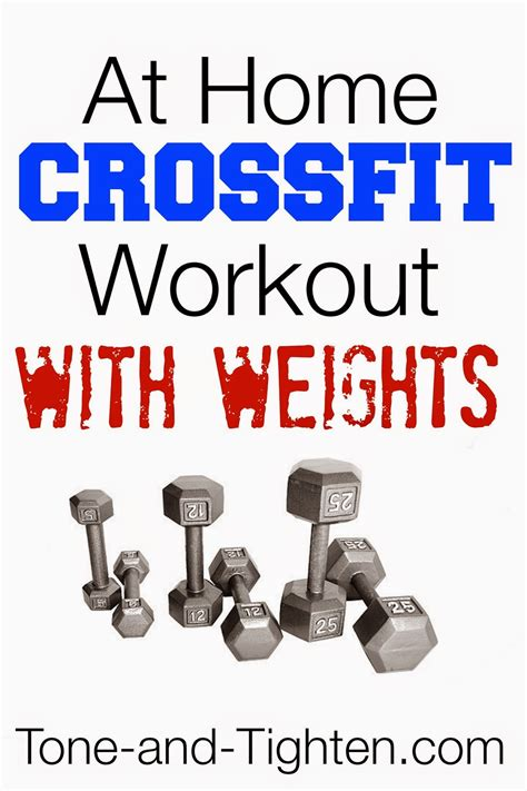 crossfit workout plan at home sport fatare
