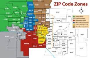 zip codes arizona map