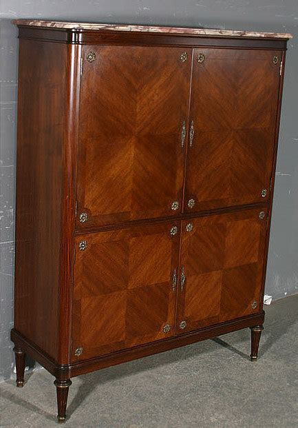 Armoire Whisky by Superb Inlaid 4 Door Liquor Cabinet Armoire For