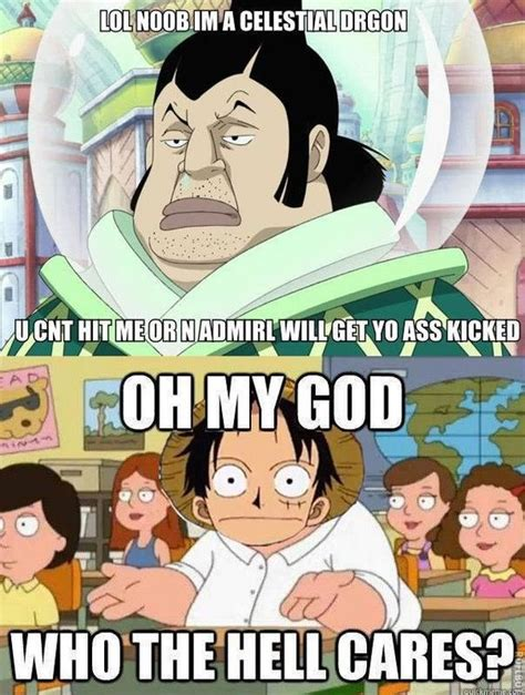 Funny Manga Memes - luffy and the celestial dragons one piece pinterest