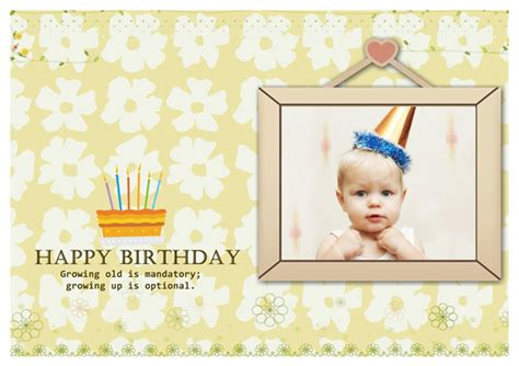 birthday card templates greeting card builder