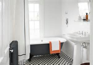 Decorating Ideas For Black And White Bathroom Black And White Bathroom Floor