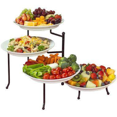 4 tier buffet server venice 4 tier swivel buffet server