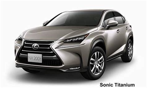 lexus nxt body color photo exterior colour picture