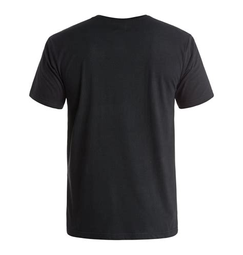 Basic T Shirt With Pocket Black basic pocket t shirt 3613371920746 dc shoes