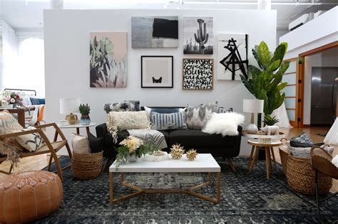 decorating a modern home modern boho interior design with wayfair registry green