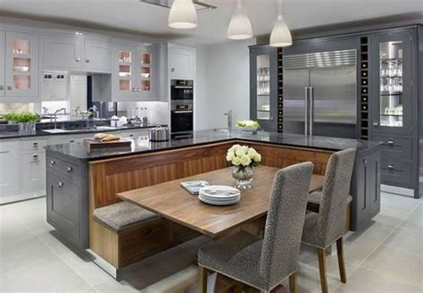 modern kitchen island with seating 20 beautiful kitchen islands with seating kitchen design