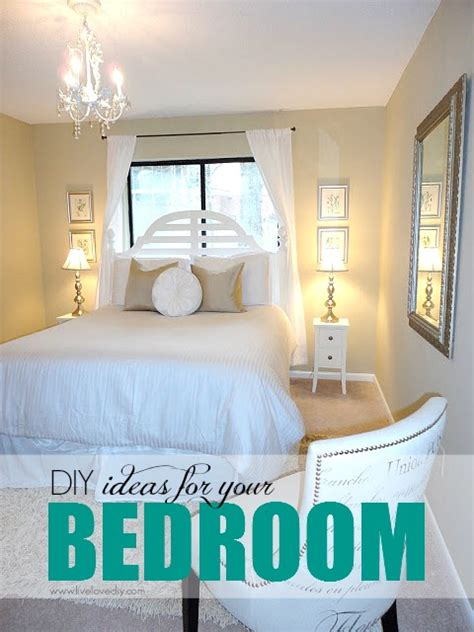diy bedroom decorating ideas for livelovediy guest bedroom makeover