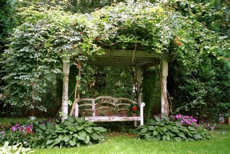 english garden design old english garden bench with arbor tranquil spaces