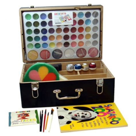 Snazaroo Leopard Painting Kit snazaroo professional painting kits 54 colors paint supplies lowest priced name
