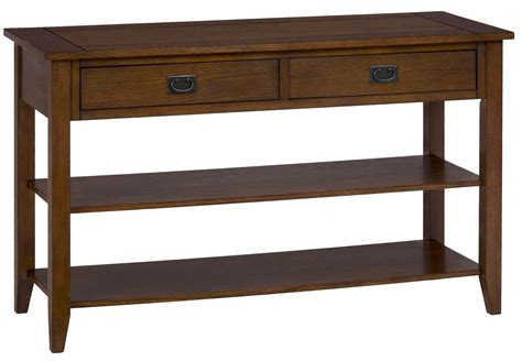 oak mission sofa table mission oak sofa table 1032 4 jofran
