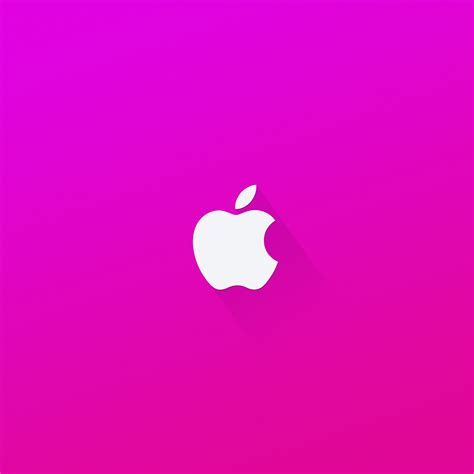 girly apple wallpaper download apple logo pink 2048 x 2048 wallpapers 4600368