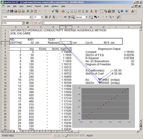 Quattro Pro Spreadsheet by Opening Quattro Pro Files Free Programs